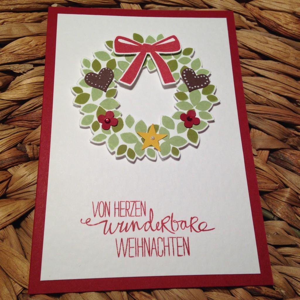 Klassische Karten Willkommen, Weihnacht!_3