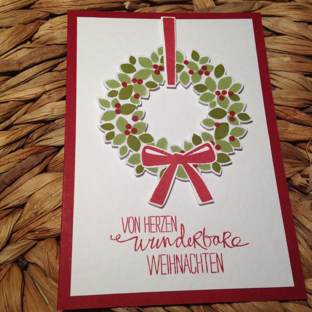 Klassische Karten Willkommen, Weihnacht!_4