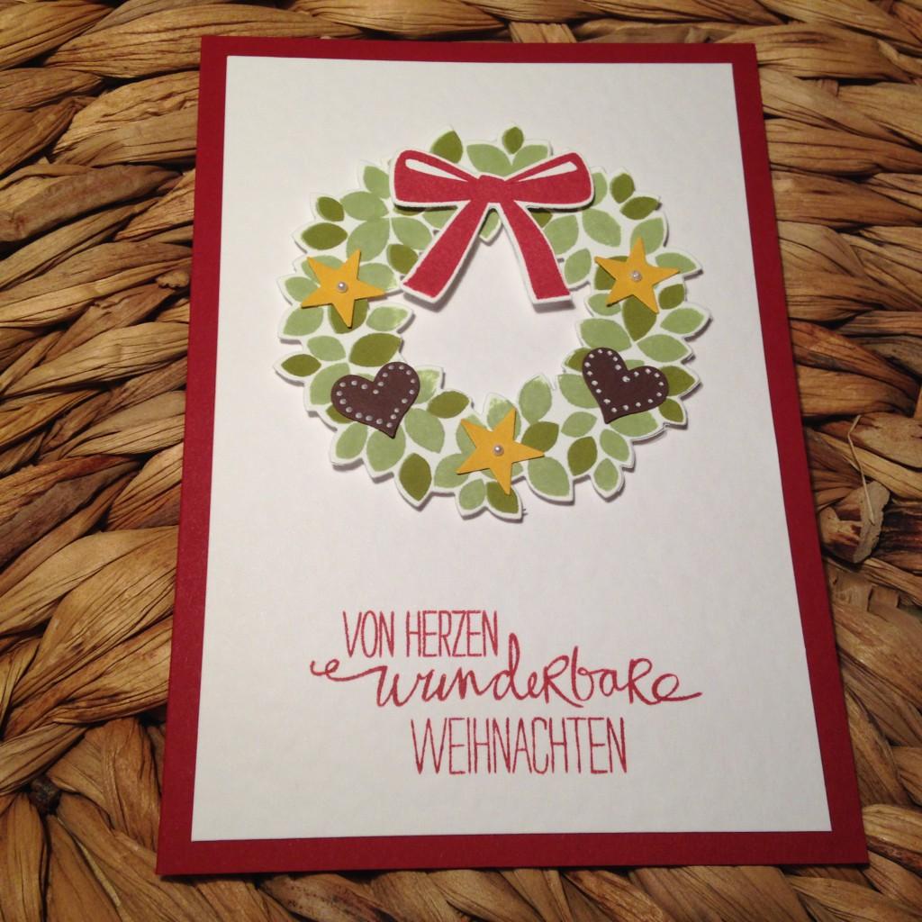 Klassische Karten Willkommen, Weihnacht!_5