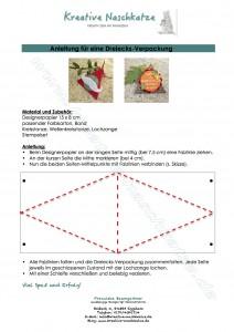 Anleitung Dreiecksverpackung+WZ