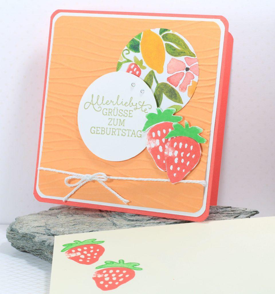 Geburtstag Fresh Fruit Meereswellen Geburtstagsblumen - 1