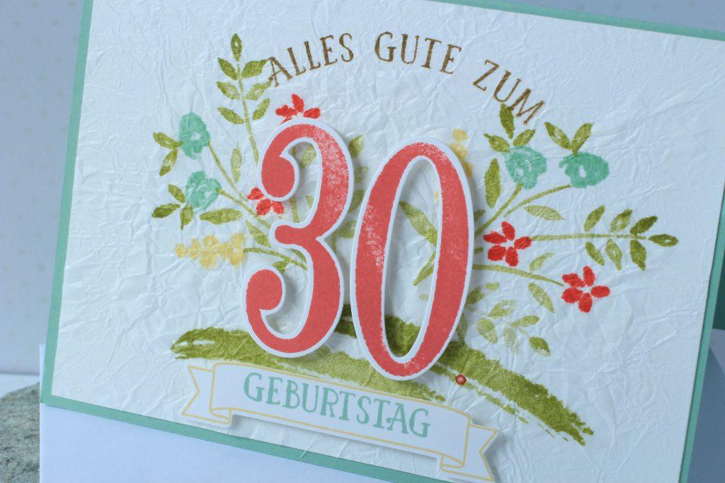 Geburtstag So viele Jahre Faux Silk Technik - 4