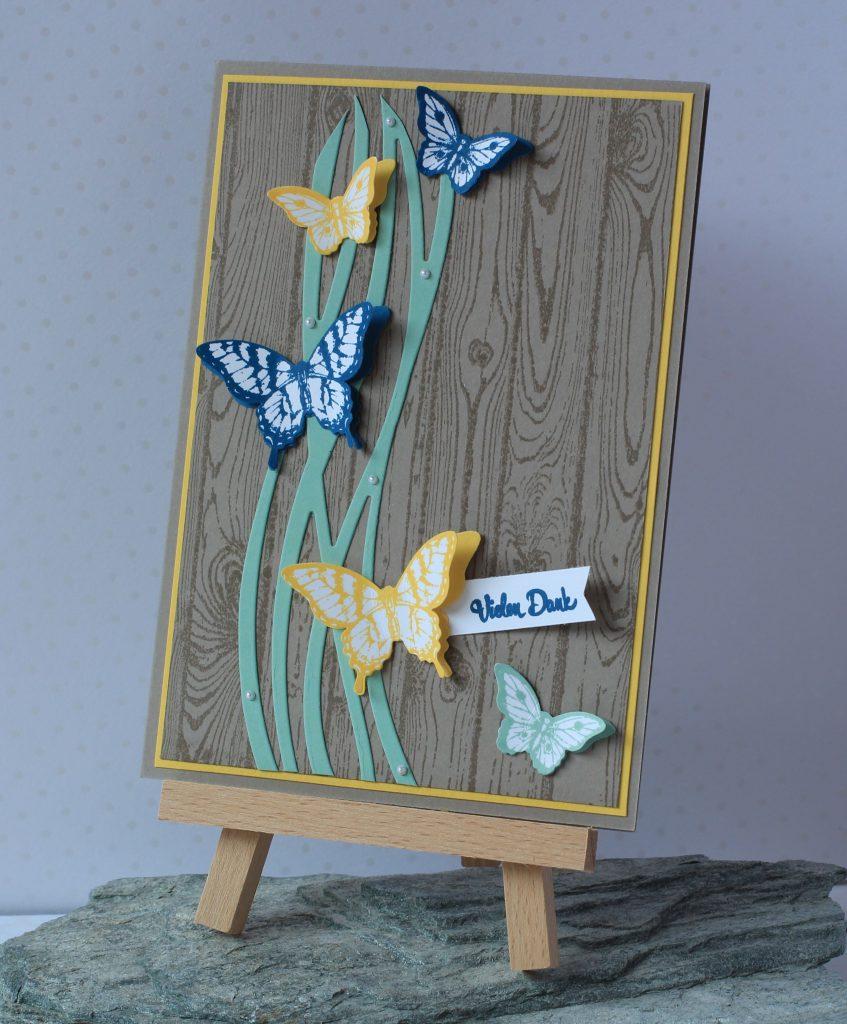 Hardwood Papillon Potpourri Wunderbar verwickelt Bannerweise Grüße - 1