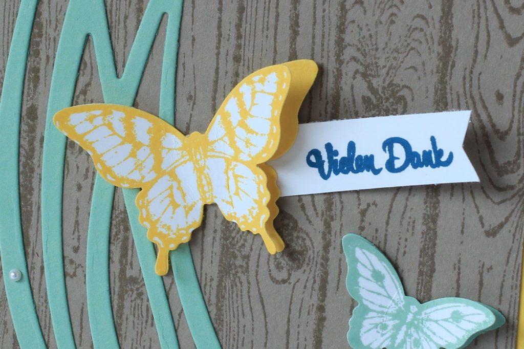 Hardwood Papillon Potpourri Wunderbar verwickelt Bannerweise Grüße - 2