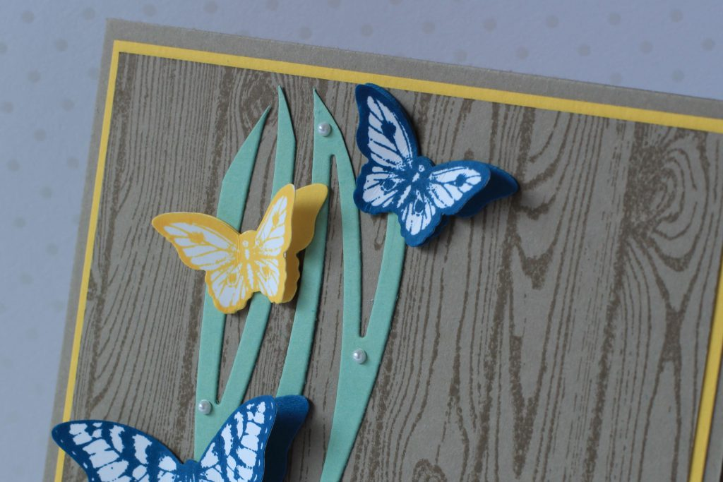 Hardwood Papillon Potpourri Wunderbar verwickelt Bannerweise Grüße - 3