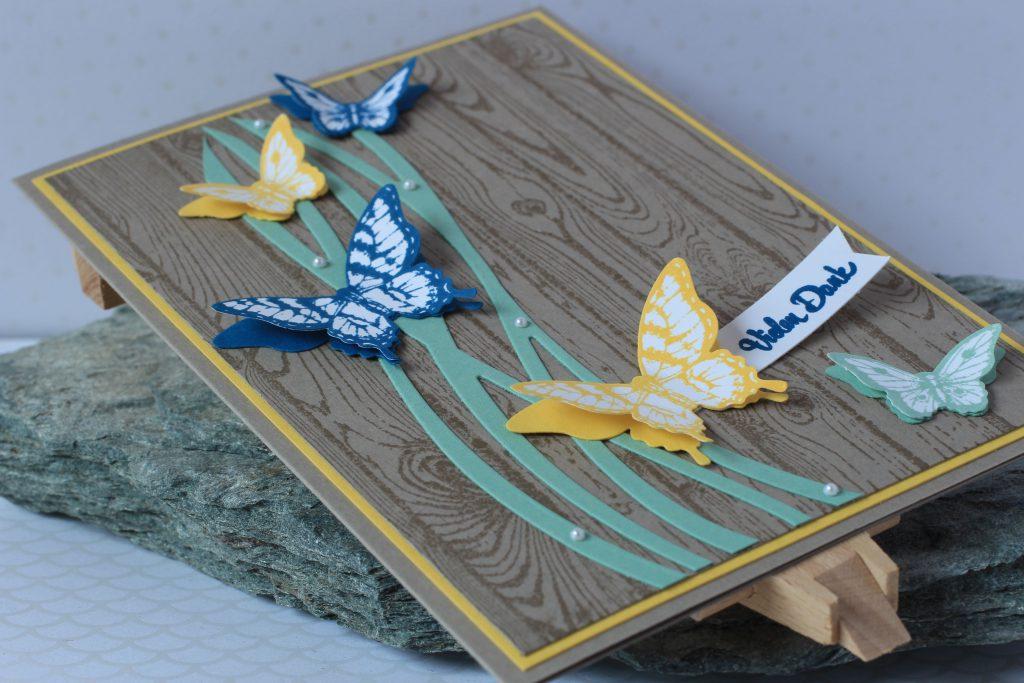 Hardwood Papillon Potpourri Wunderbar verwickelt Bannerweise Grüße - 4