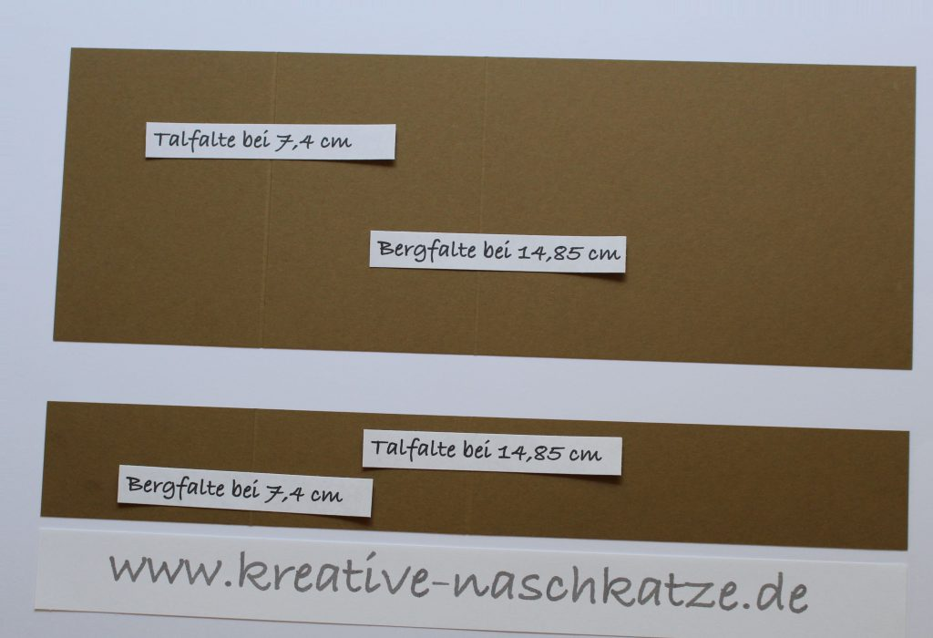 Anleitung Z-Fold-Card Vogelhochzeit Blättermeer - 2