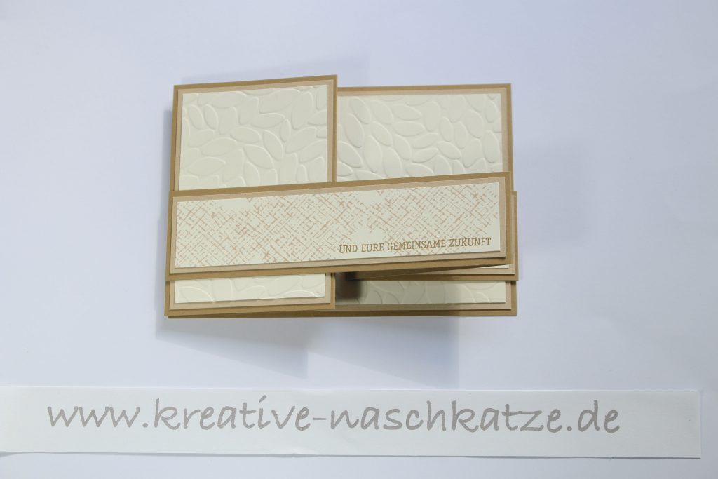 Anleitung Z-Fold-Card Vogelhochzeit Blättermeer - 7