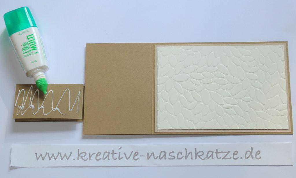Anleitung Z-Fold-Card Vogelhochzeit Blättermeer - 8