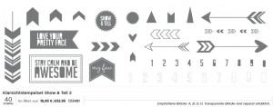Klarsichtstempel Show & Tell 2