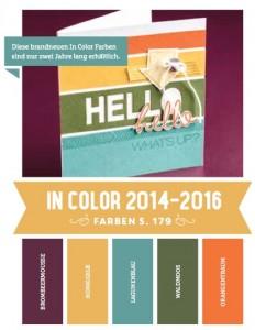 neue In Colors 2014-2016
