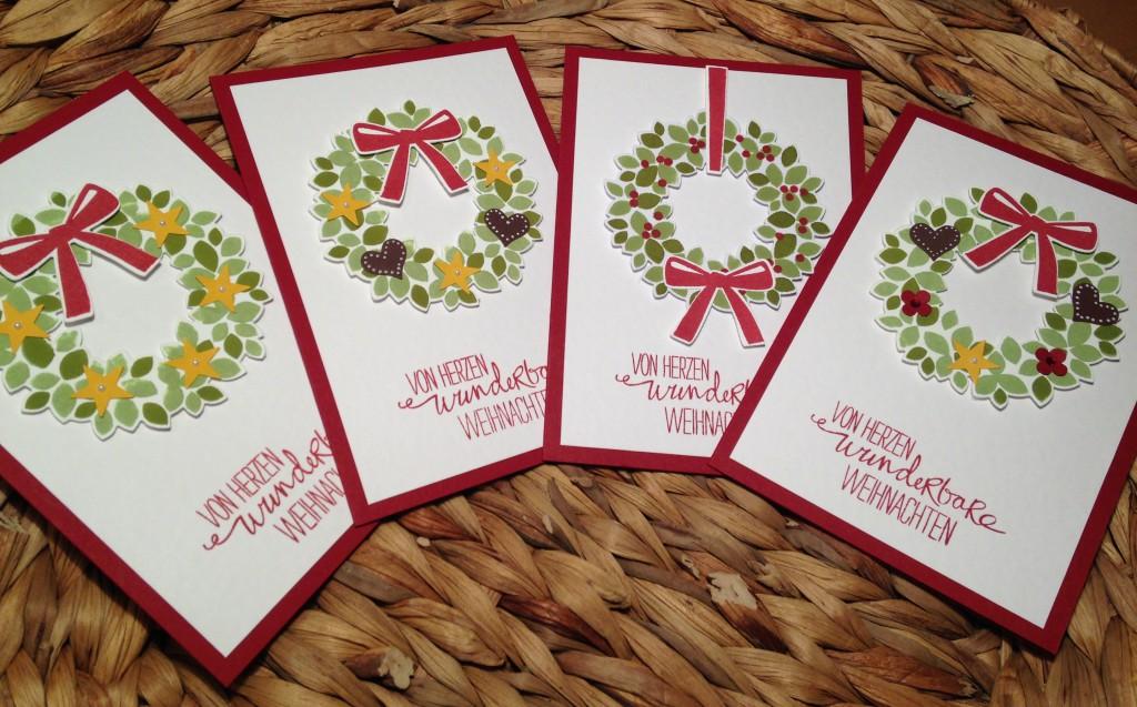 Klassische Karten Willkommen, Weihnacht!_1