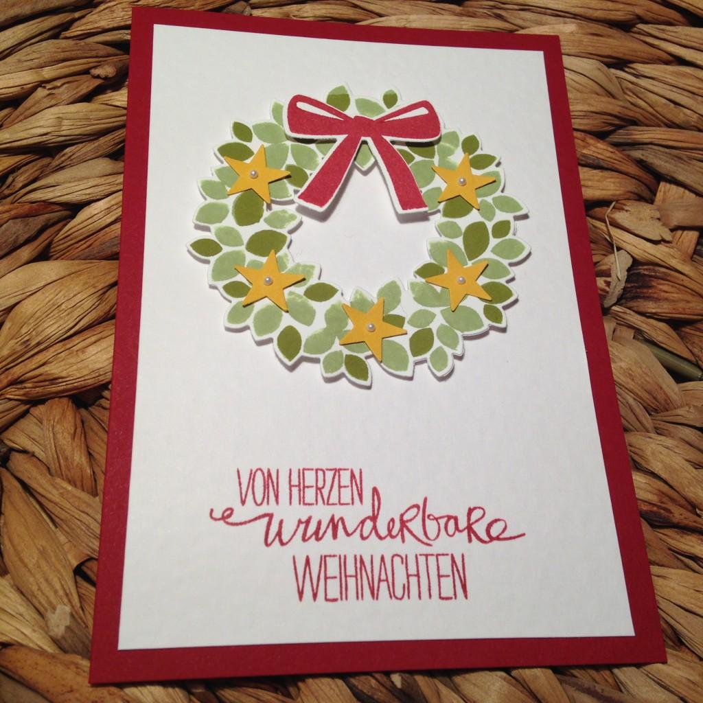 Klassische Karten Willkommen, Weihnacht!_2