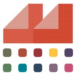 Designerpapier Prachtfarben