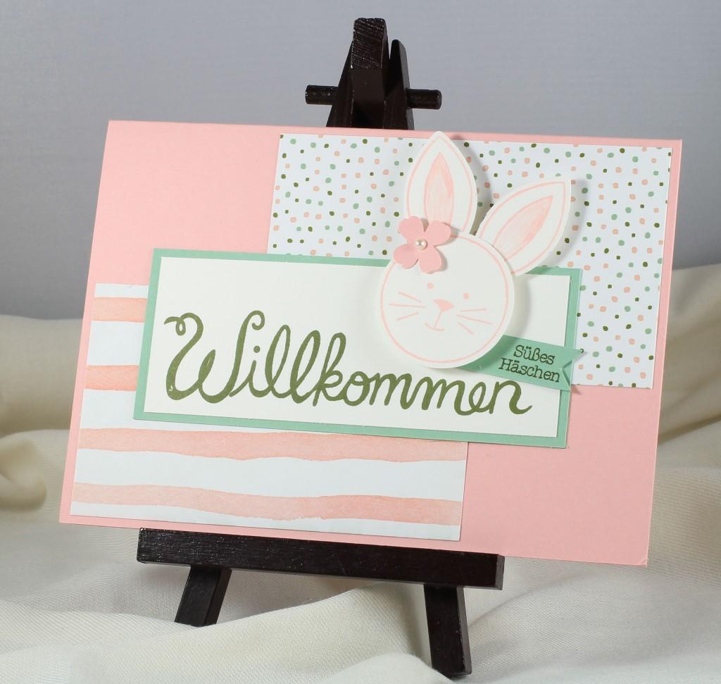 Friends & Flowers, Herzlich Willkommen, Geburtstagsblumen, Papillon Potpourri, Stampin' Up! - 2