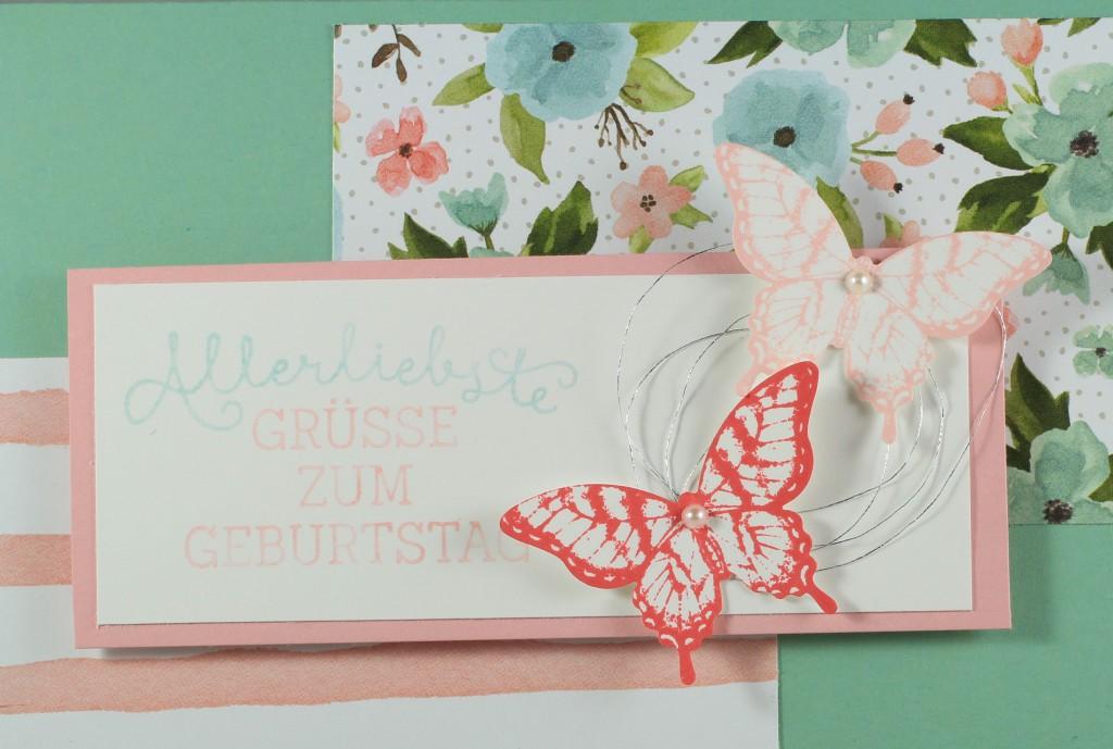 Friends & Flowers, Herzlich Willkommen, Geburtstagsblumen, Papillon Potpourri, Stampin' Up! - 4