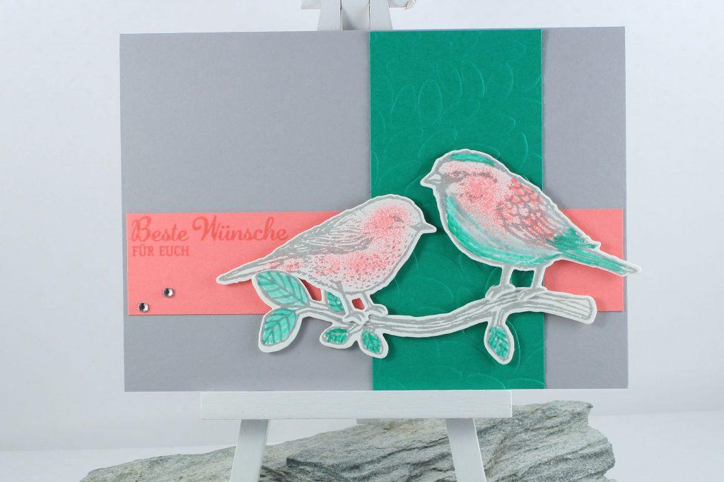 Vogelhochzeit_Thinlits Blumen und Vögel_Blättermeer_kreative-Naschkatze - 1