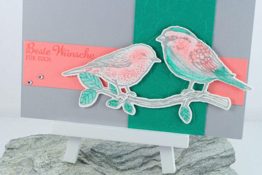 Vogelhochzeit_Thinlits Blumen und Vögel_Blättermeer_kreative-Naschkatze - 4
