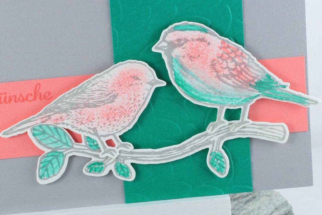 Vogelhochzeit_Thinlits Blumen und Vögel_Blättermeer_kreative-Naschkatze - 5