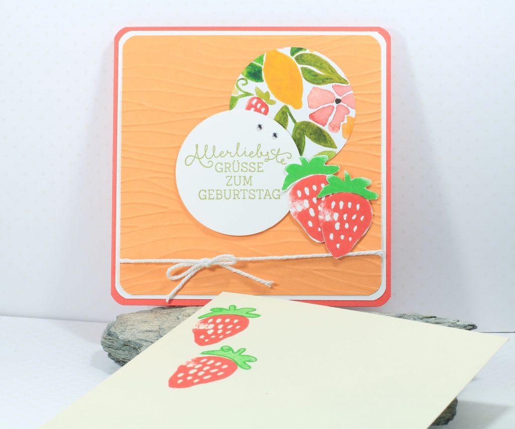 Geburtstag Fresh Fruit Meereswellen Geburtstagsblumen - 2