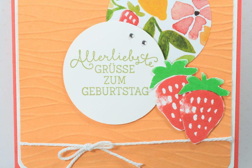 Geburtstag Fresh Fruit Meereswellen Geburtstagsblumen - 6