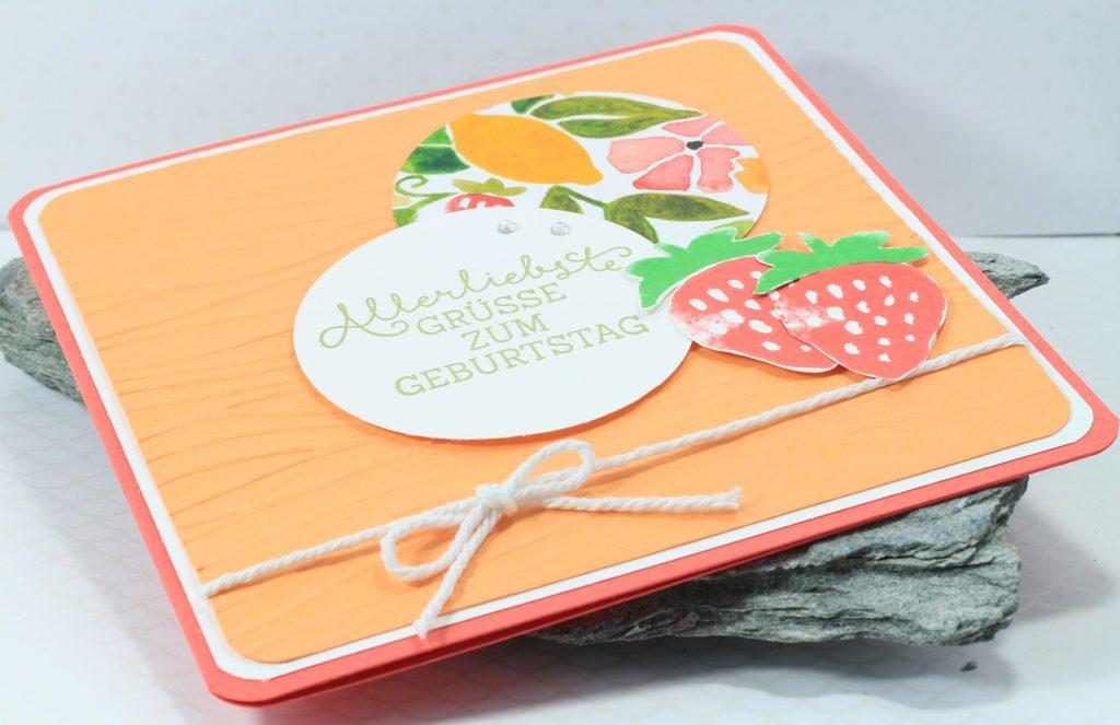 Geburtstag Fresh Fruit Meereswellen Geburtstagsblumen - 7
