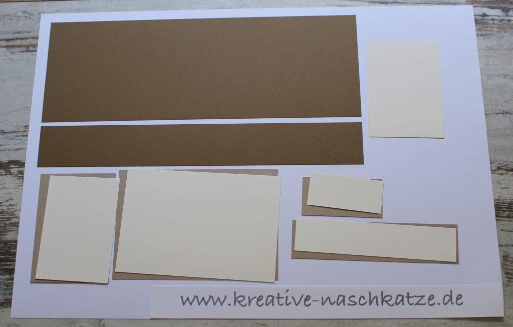 Anleitung Z-Fold-Card Vogelhochzeit Blättermeer - 1