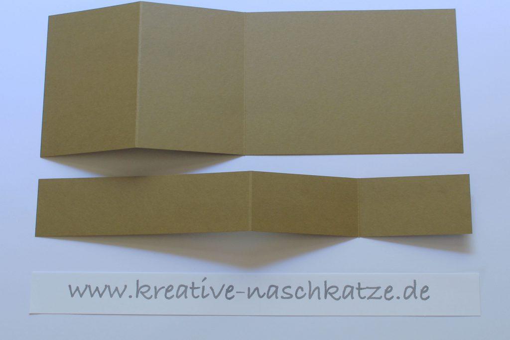 Anleitung Z-Fold-Card Vogelhochzeit Blättermeer - 4