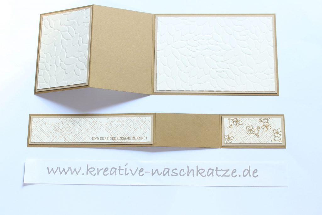 Anleitung Z-Fold-Card Vogelhochzeit Blättermeer - 5