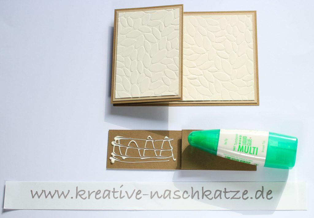 Anleitung Z-Fold-Card Vogelhochzeit Blättermeer - 6
